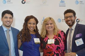 Camden Business Association Kick-Off Event August 2018 - Lorenzo Gibson, Nichelle Pace, Mary Cruz, Tevin Rivera