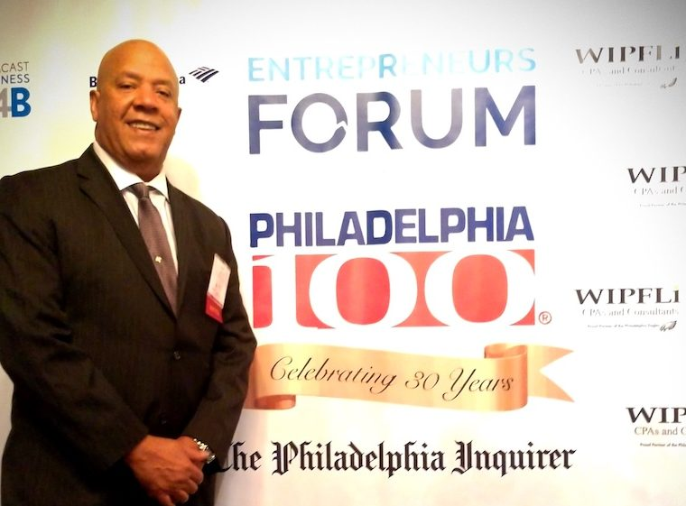 CBA President Ray Jones Philadelphia100 Winner